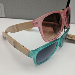 78a39ad28a4 Blue Planet Eyewear Accessories - NEW BAMBOO FRAME ECO-FRIENDLY BRAND  SUNGLASSES