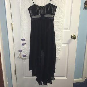 Arden B long short black dress size XS