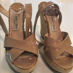 JIMMY CHOO size nine heels