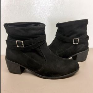 American Eagle Ankle Boots Black