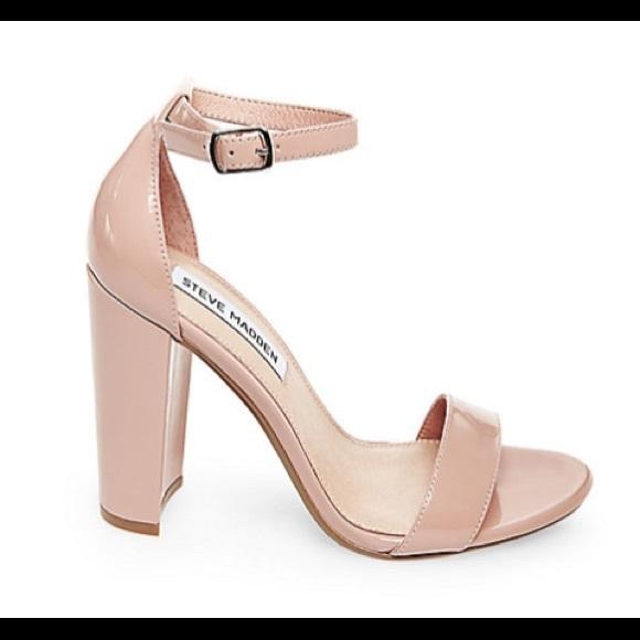 cb6d9173d87 Steve Madden Carrson blush patent leather heels. M 595871e14225bef2cb034276