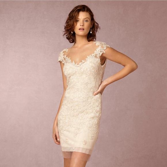 aee58d7ff7d2 Tadashi Shoji Dresses | Bhldn Solange Dress Ivorynude Size 6 | Poshmark