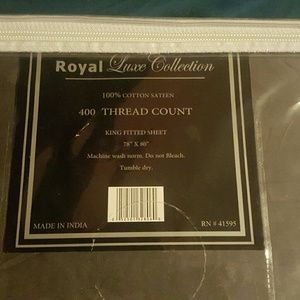 Other - FINAL PRICE! King Fitted Sheet