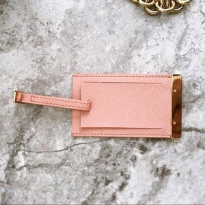 3522b0d64688 Michael Kors Bags - MICHAEL KORS Luggage tag Passport holder set pink