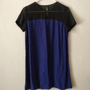 Black and Blue Shift Dress XS/S