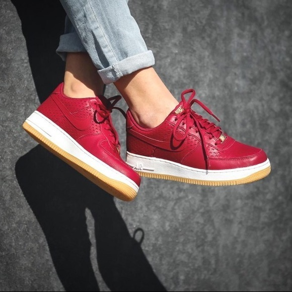Nike Shoes | Nike Womens Air Force Red
