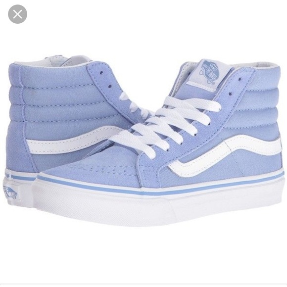 cd642e62ec84 Vans Light Blue High Tops. M 59587981291a35c0a605d05e