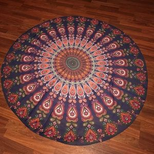 Other - Boho Indian round Tapestry
