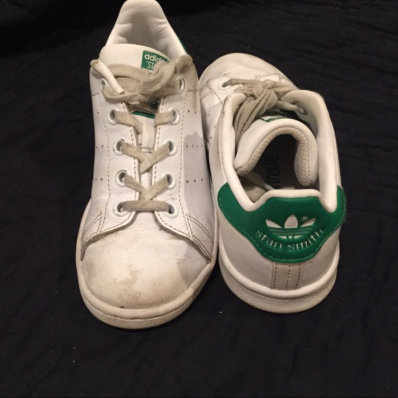 sports shoes 78054 59a6c Stan Smith Adidas green & white size 13k
