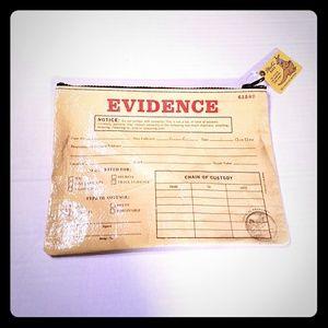 Blue Q Zipper Pouch Evidence