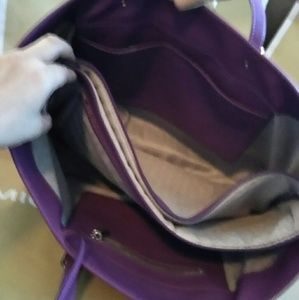 dec7a4764 Michael Kors Bags - EUC Michael Kors purple tote purse bag
