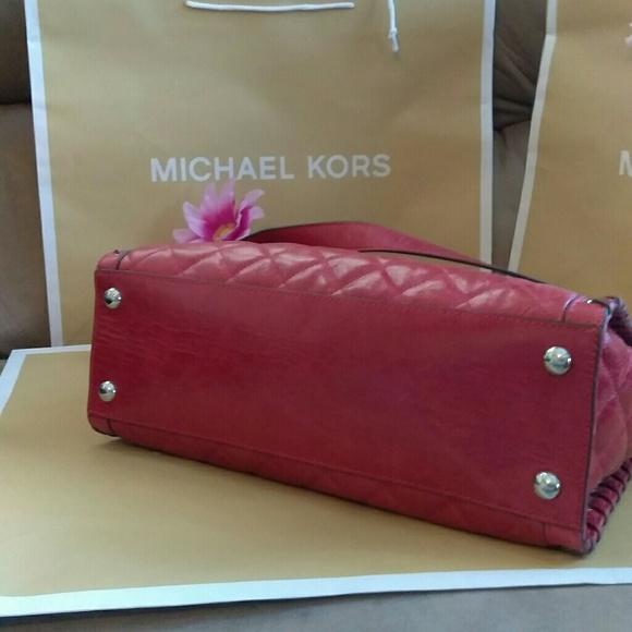60 Off Michael Kors Handbags Nwot Mk Studded Large