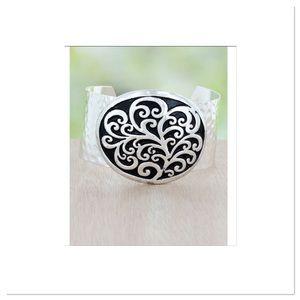 Scroll Design Cuff Bracelet