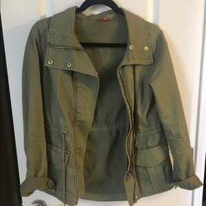 Jackets & Blazers - Green army jacket