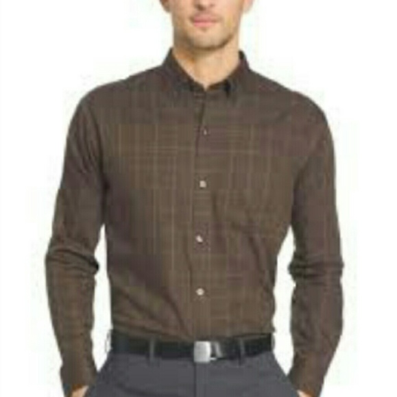 69 off van heusen other van heusen button down plaid for Van heusen plaid shirts