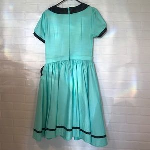 Pinup Couture Dresses - Pinup Girl Clothing Dee Dee Dress Mint and Black L