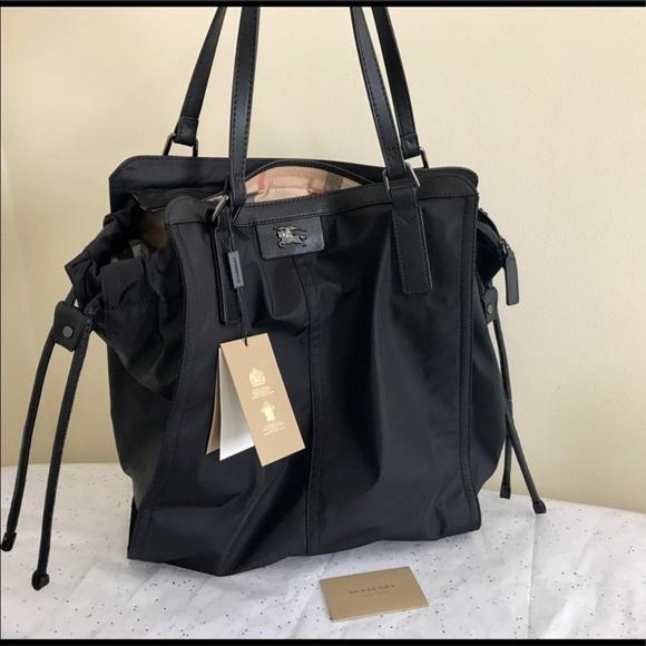 💯Authentic🎄🎁Burberry Packable Nylon Tote🎁🎄 3edc4866c53fe
