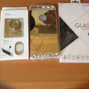 Accessories - iPhone 7 Plus iRing mirrors & glass case