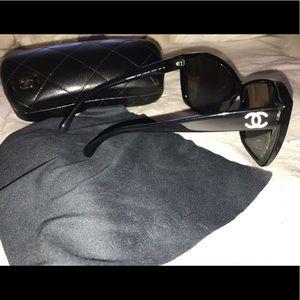 41f01e91273 CHANEL Accessories - Chanel Glitter CC Sunglasses