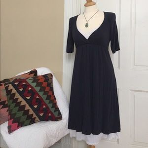 FLASH SALEAnthropologie navy knit dress S