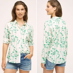 Holding Horses Embroidered Vines Shirt