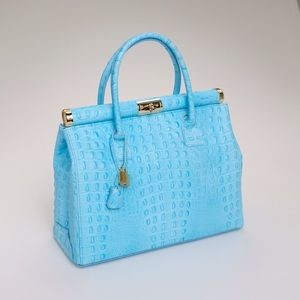 463dc114a356 Handbags - Giada pelle tiffany blue handbag
