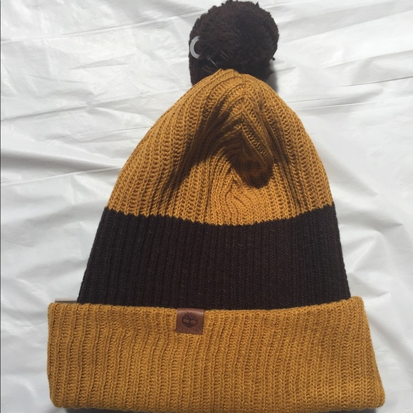 864d7ef38 Timberland Heathered Colorblock Slouchy Beanie NWT