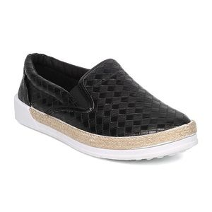 New Qupid Woven Leatherette Espadrille Sneaker