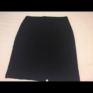 Zara Basic XL pencil skirt black