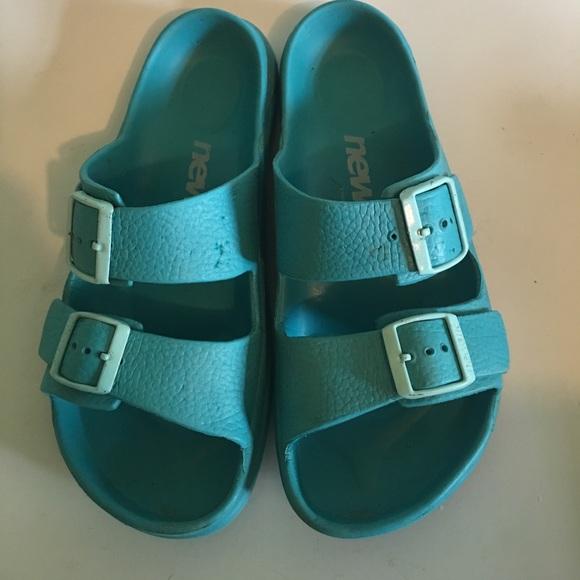 979cc6185e5d45 Birkenstock Shoes - Birkenstock newalk blue size 8 sandals comfortable