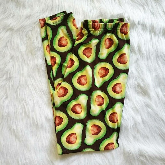 283a1806efa6a Agnes & Dora Pants | Nwot Agnes Dora Avocado Leggings Size Large ...