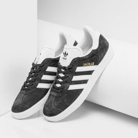 20 Off Adidas Shoes Adidas Gazelle In Utility Black Women S From Jaya S Closet On Poshmark