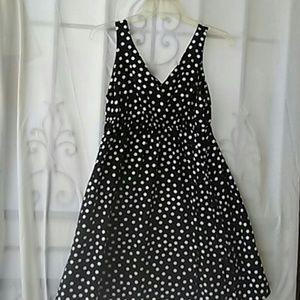 Black and white polka dot Old Navy