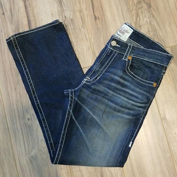 Big Star Mens Jeans 6MPIFOM16D 32L 36W Pioneer Boot Cut Flap 16 Year NEW RELEASE B&#&# Star Mens Jeans 6MPIFOM16D 32L 36W Pioneer Boot C&#t Flap 16 Year $