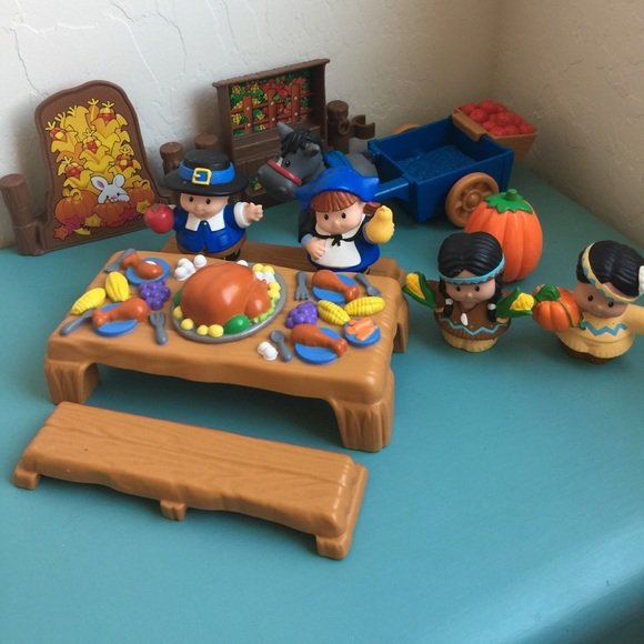 Little People Other | Fisher Price Thanksgiving Set | Poshmark