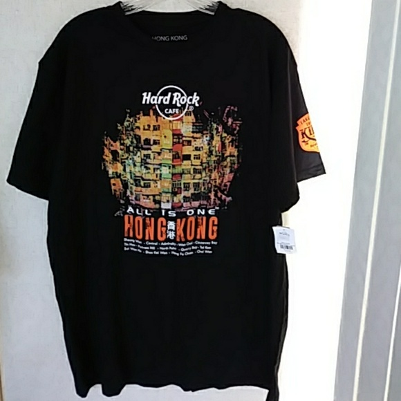 Hard Rock Cafe Hong Kong T Shirt Price