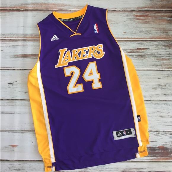 adidas Other | Lakers Jersey Youth Large Kobe Bryant 24 | Poshmark