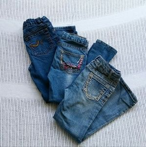 Other - 3 pairs of girls jeans size 6