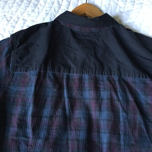 49 off harley davidson other harley davidson plaid for Mens flannel shirt with elbow patches