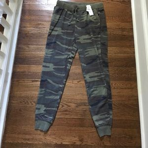 NWT Others Follow camo joggers small