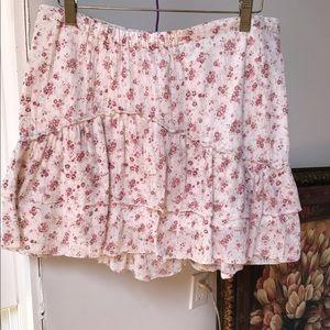 H&M LOGG Mini Skirt Size M