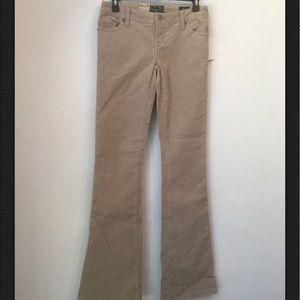 NWT seven 7 beige flare corduroy pants