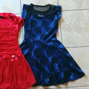 Other - Stunning Blue Girls Dress Size 7