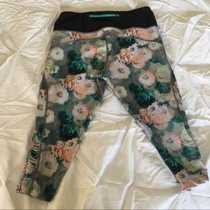 Pants - Floral Athletic Leggings