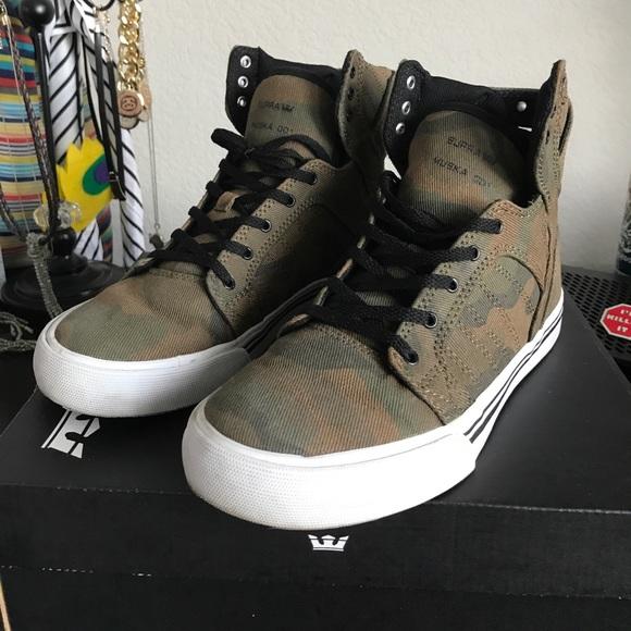 Supra Shoes | Supra Muska Skytop Camo