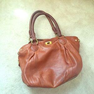 J. Crew brown leather bag