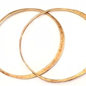 Jewelry - Sterling Silver Gold Bangles
