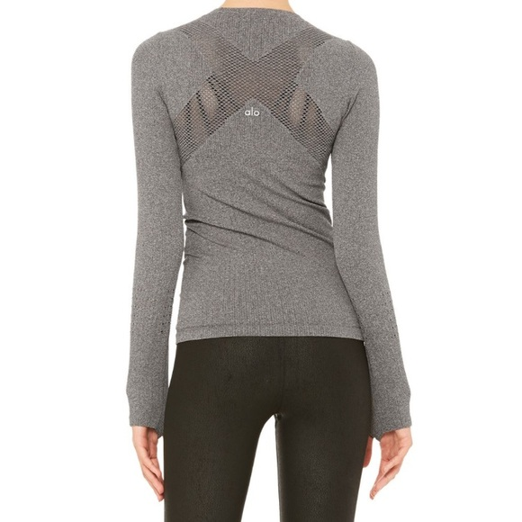 Alo Yoga Exhale Long Sleeve Top