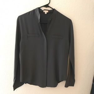 37b032ab9b6cd Cuyana Tops - Cuyana Dolman sleeve silk shirt XS