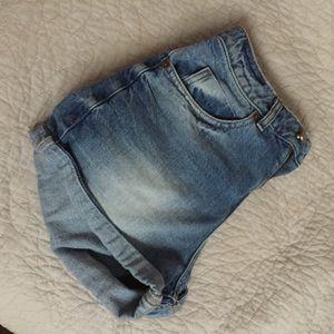 ASOS Mom jean shorts